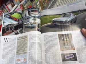 Sept 2015 Elektroauto Umbau Volvo P 1800 E von Murschel Electric Cars in der auto motor sport - Motor Klassik - Volvo unter Strom2